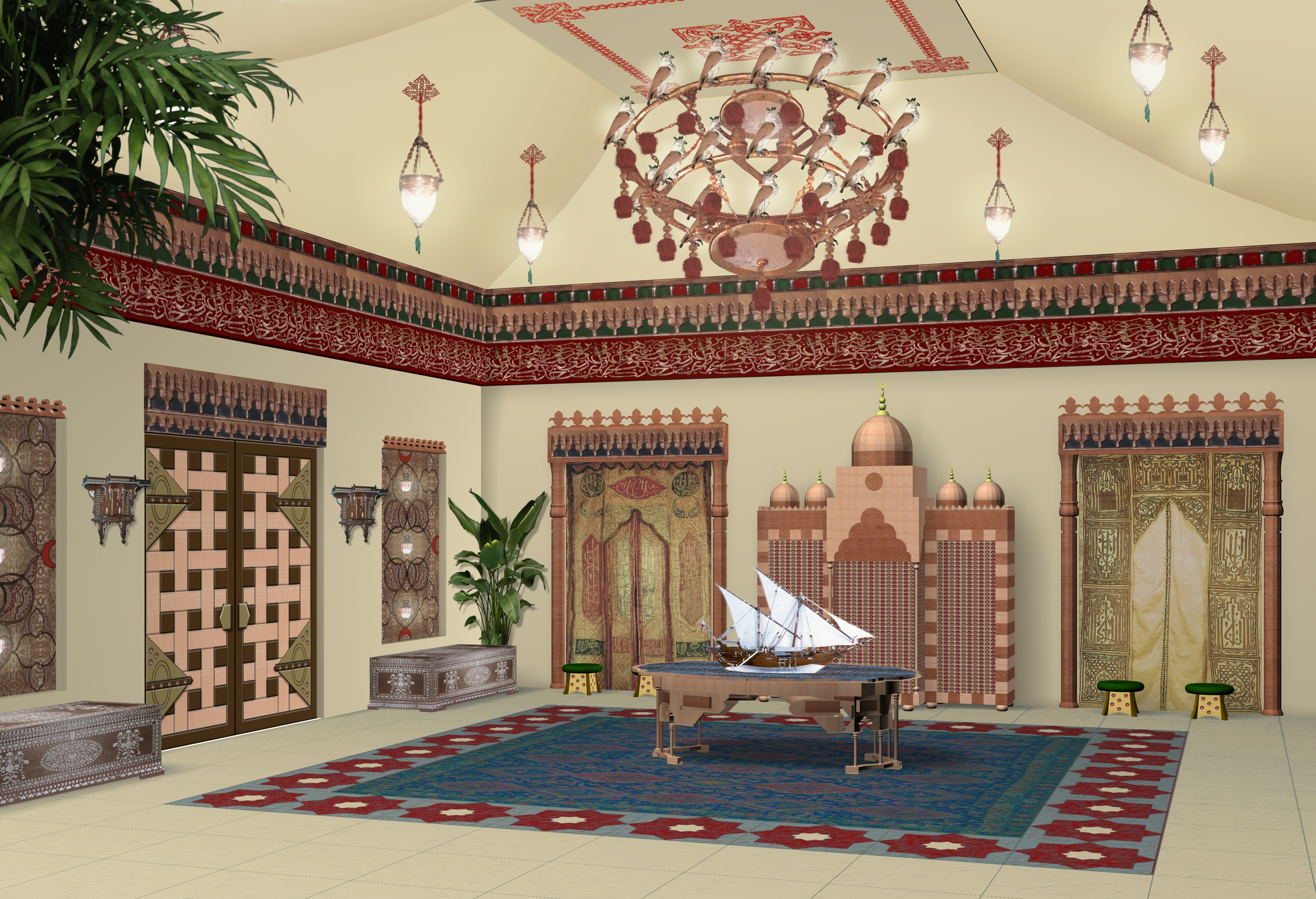 Arabian Style 'Majlis' (Sitting Room) – Deffufa Decor